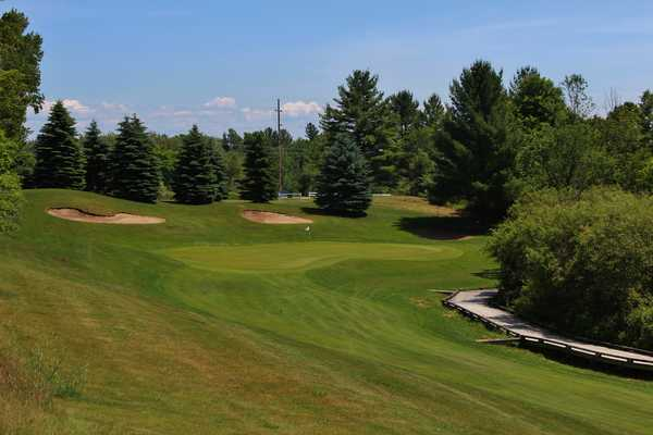 Manistee National - Cutters' Ridge golf course - 18th