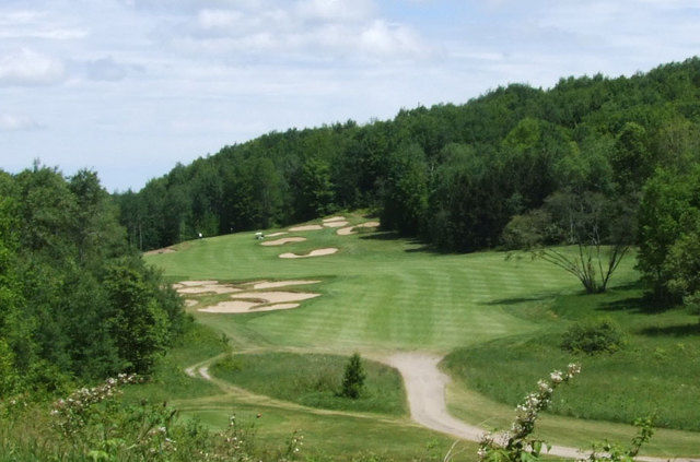 Black Forest Golf Course - hole 18