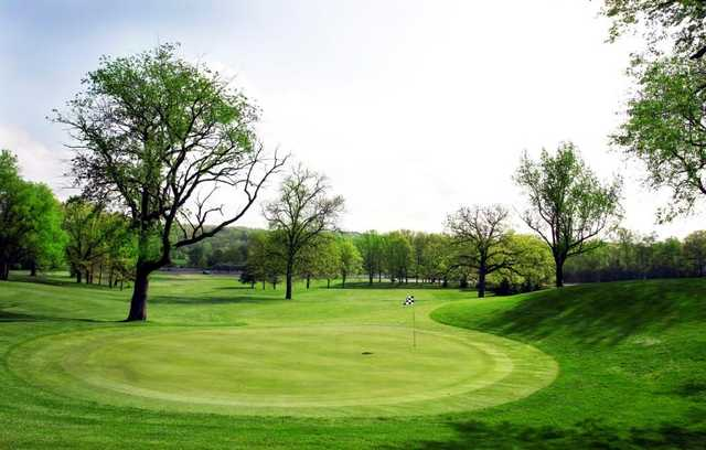 huron hills golf course ann arbor michigan golf course information and reviews. Black Bedroom Furniture Sets. Home Design Ideas
