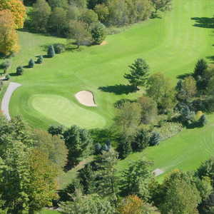 Brookside GC: aerial view