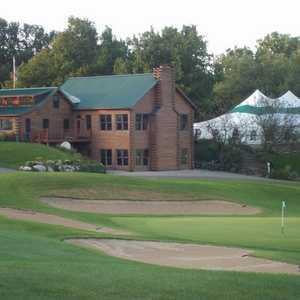 Thornapple Creek GC: clubhouse