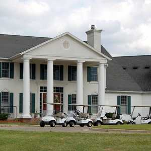 Wallinwood Springs GC: clubhouse