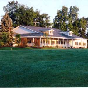 Highland Hills GC: clubhouse