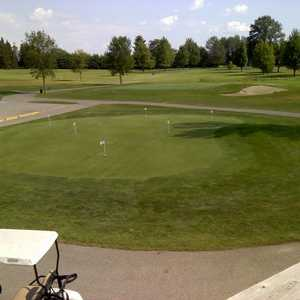Sandy Ridge GC: clubhouse