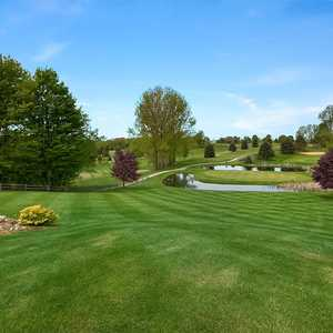 Grand View GC: Island green