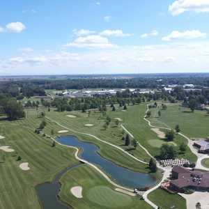 Woodland Hills GC: Aerial view