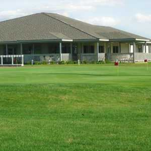 Whiteford Valley GC: Putting green