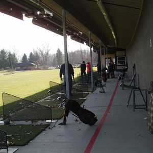 Beech Woods GC: Driving range