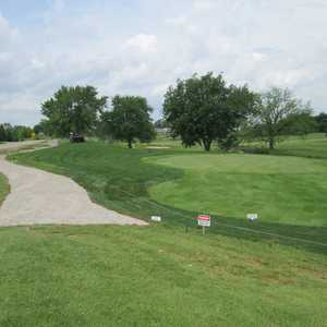 South at Fellows Creek GC: #9