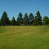 A view of green flanked by bunkers at Pine View Golf Club