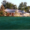 A view of the clubhouse at Highland Hills Golf Club