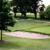 A view of sand trap at Highland Hills Golf Club
