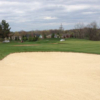 A view of fairway #1 bunker at East Course from Links of Novi