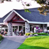 A view of the clubhouse at Fieldstone Golf Club of Auburn Hills