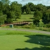 A view of a green at Warren Valley Golf Course