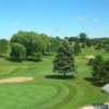 A view of a green at Portland Country Club