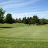 A view of the green at Katke Golf Course