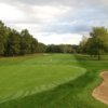 View of a green and fairway at Indian Run Golf Course