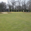 View of the 9th green at Coldwater Golf Course
