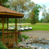 View from the clubhouse at White Deer Country Club