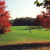 A fall view from Oakland Hills Golf Club