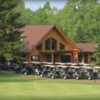 A view of the clubhouse at Cedar Farms Golf Course