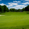 A view of the 11th green at Barton Hills Country Club