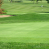 A view of the 11th green at Maple Creek Golf Club