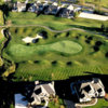 Aerial view of the 3rd green at Stonebridge Golf Club