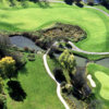 Aerial view of the 11th hole at Stonebridge Golf Club