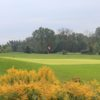 A view of the 12th hole at Hidden Oaks Golf Course