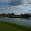 Eagle Eye GC: The island green on Eagle Eye Golf Club's 17th