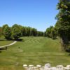 A view of a tee at Chestnut Valley Golf Course