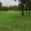 A fall view of a fairway from Scott Lake Country Club