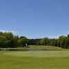 A view of the 18th green at Dunes Golf Club