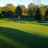 A view of a green at Pine Shores Golf Course