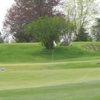 A view of green #1 at Sugarbush Golf Club