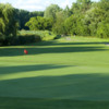 A view of a green at Dearborn Hills Golf Course
