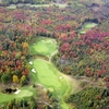 Aerial fall view from Otsego Club