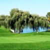 A view of the 9th green at Taylor Meadows Golf Club