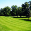 A view of a fairway at Four Lakes Country Club