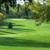 A view of a fairway at Devils Lake Golf Course