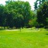 A view of a tee at Detroit Golf Club