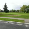 A view of green #18 at St. Clair Golf Club