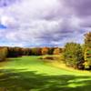 A view of fairway #8 at Manitou Passage Golf Club