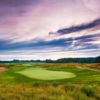 A view of the 16th green at HawksHead Links Golf Course