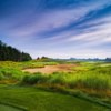 A view from HawksHead Links Golf Course
