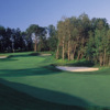 A view of fairway and green #16 at Oakhurst Golf & Country Club