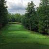A view from tee #8 at TimberStone Golf Course from Pine Mountain