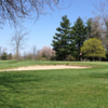 A view of a hole at Lenawee Country Club